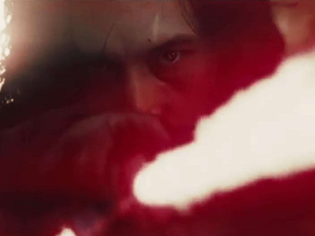 Star Wars director forced to explain why Kylo Ren's scar has moved in The Last Jedi trailer