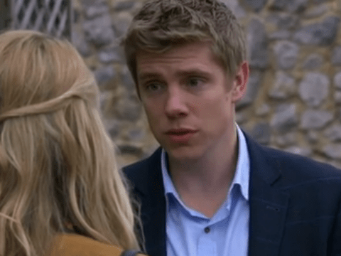 Emmerdale spoilers: Robert Sugden fears that Rebecca White will reveal all as Aaron Dingle returns