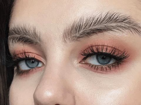 Put that brow pencil down – the next big thing is feather brows