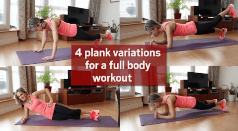 Four Plank Variations for a Full Body Workout