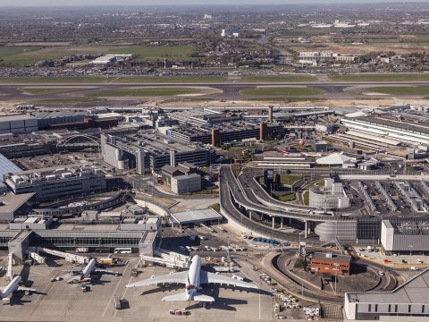 Man arrested at Heathrow after boarding plane without passport or ticket