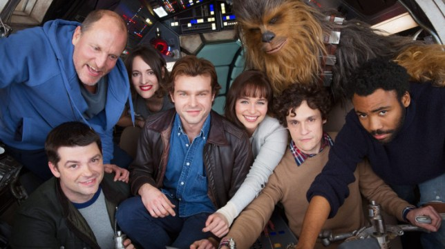 Leaked photos from Star Wars spin-off shows Chewbacca with Han Solo