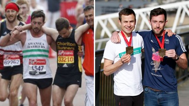 London Marathon hero who helped struggling runner says 'anyone would have done the same'