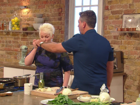John Torode slams Saturday Kitchen chef Lisa Allen for 'double-dipping'