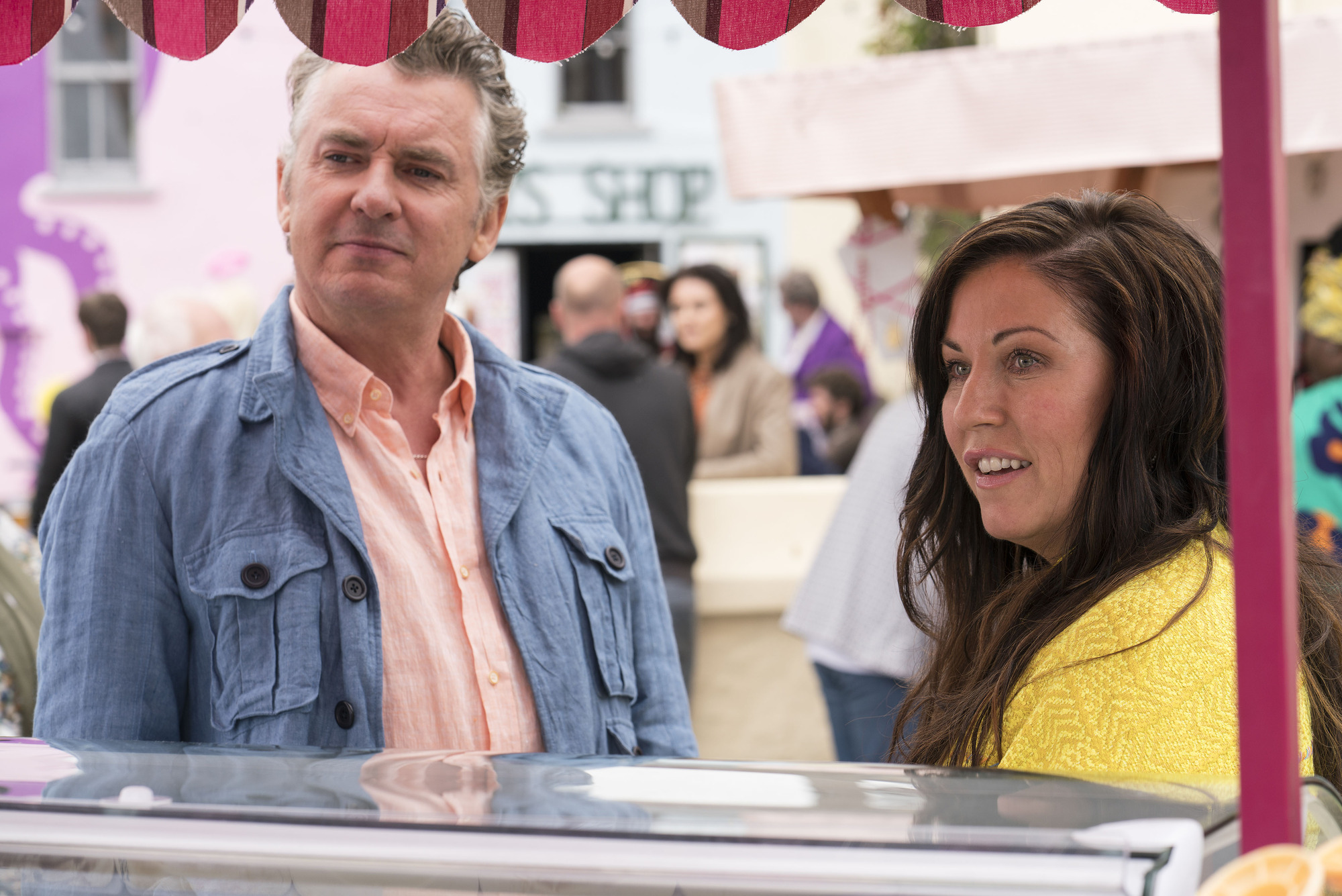Shane Richie and Jessie Wallace talk to us about that shocking Redwater episode one ending