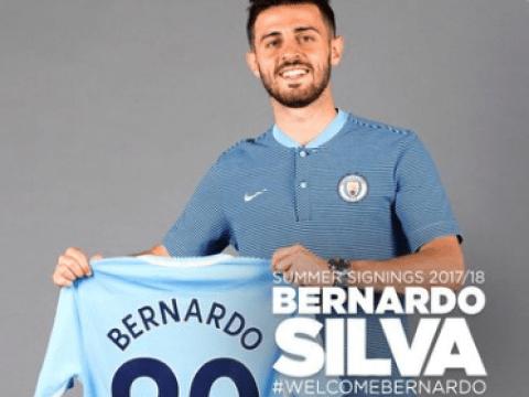 Done deal: Manchester City confirm Bernardo Silva transfer
