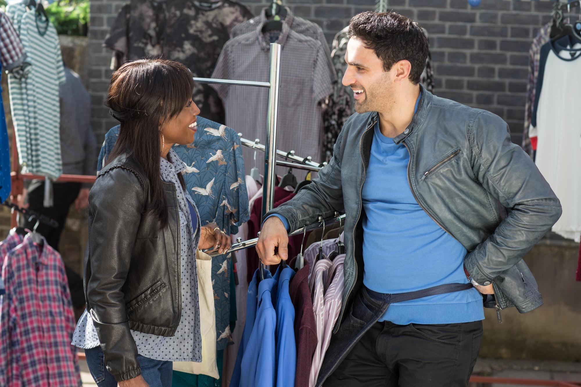 EastEnders spoilers: Denise Fox and Kush Kazemi reunited at last as she confesses her love?