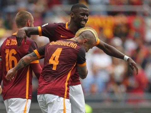 Chelsea prepare £70 million raid for Roma pair Radja Nainggolan and Antonio Rudiger