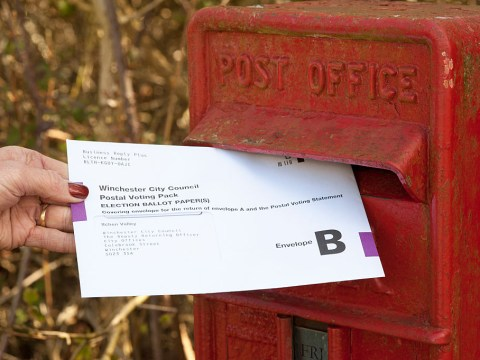When is the postal vote application deadline for the local elections 2018?
