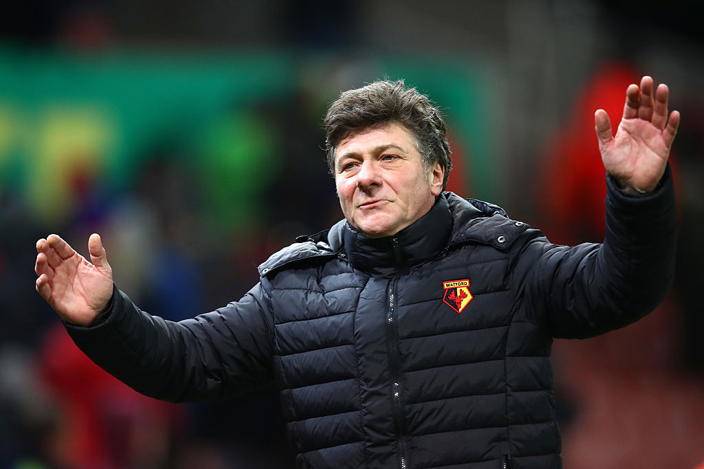 The contenders to replace Walter Mazzarri at Watford, including Ranieri, Silva and Monk