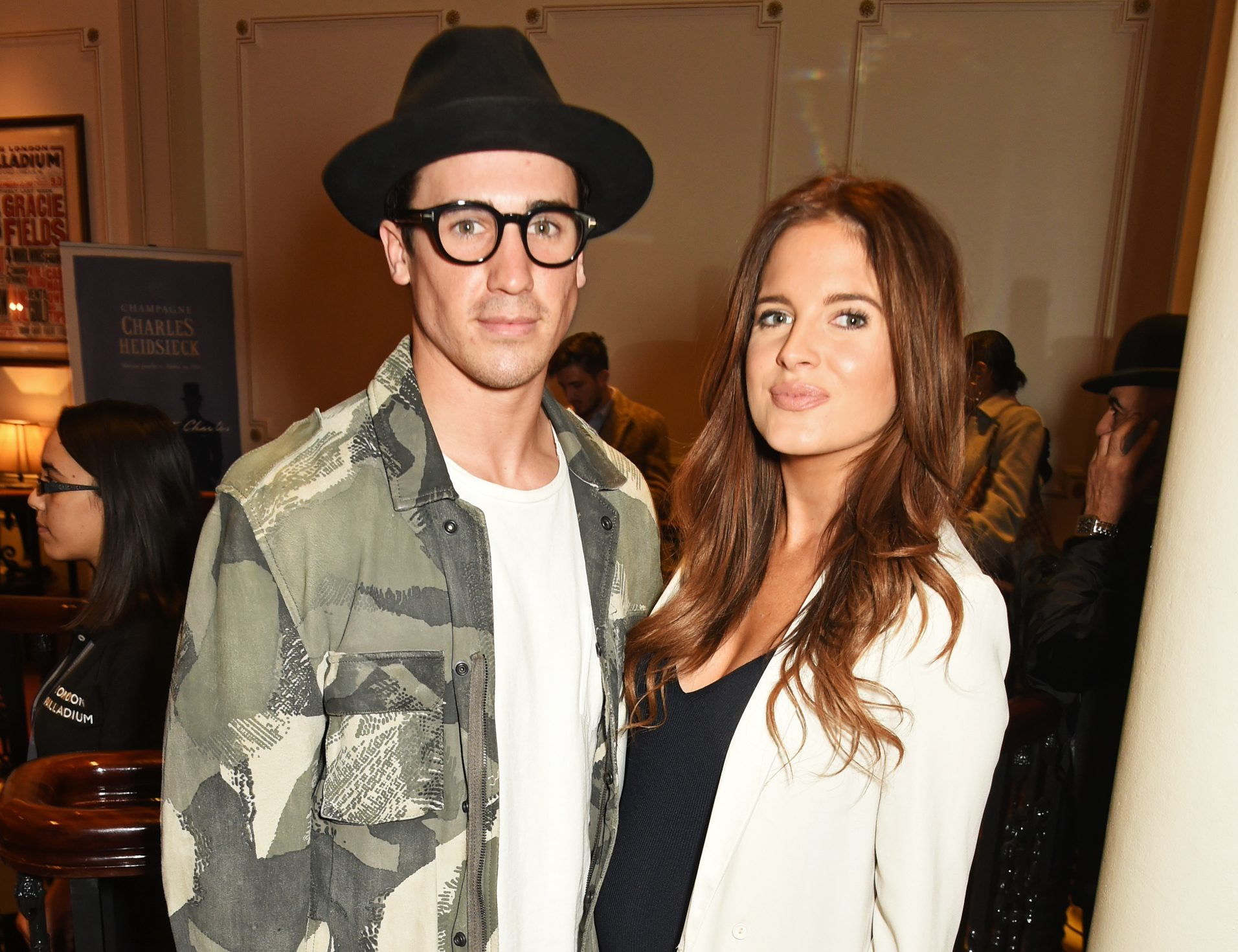 Made In Chelsea stars Binky Felstead and Josh Patterson welcome their daughter