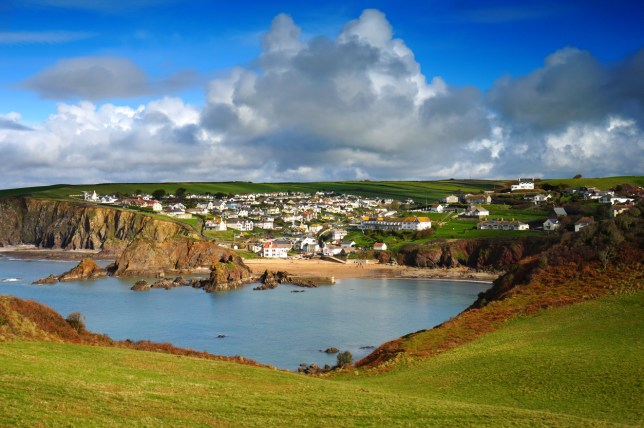 The village of Hope Cove (Picture: Getty)