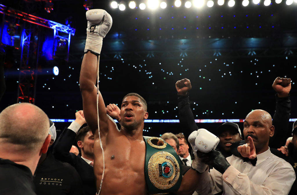 Mike Tyson offers Anthony Joshua some sage advice as Brit becomes boxing superstar