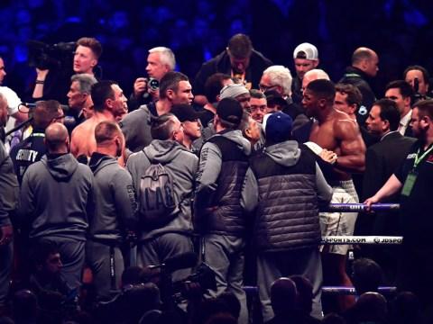 Anthony Joshua and Vitali Klitschko almost got into fight after stoppage, says Eddie Hearn