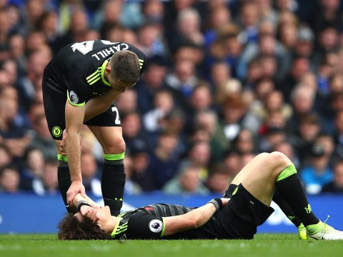 Chelsea defender David Luiz provides encouraging injury update on Instagram after Everton scare