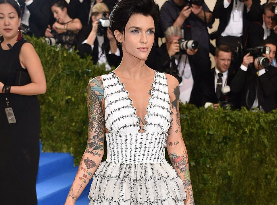 Ruby Rose's dog has an obsession with her dirty underwear and the police were nearly involved