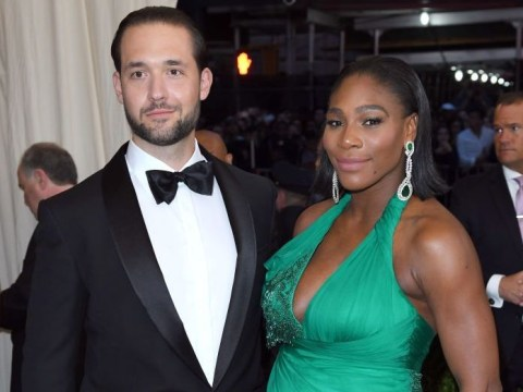 Serena Williams' husband wins partner of year as he rents billboards to show love