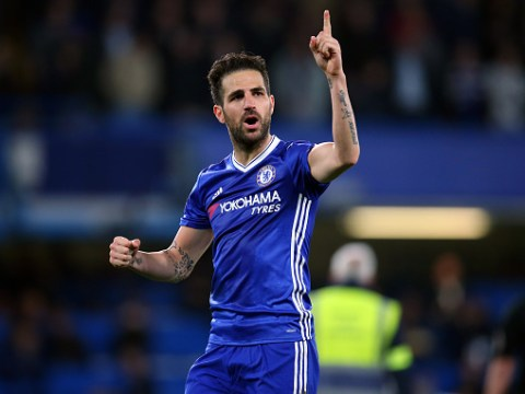 Cesc Fabregas responds to exit rumours moments after Chelsea's victory over Middlesbrough