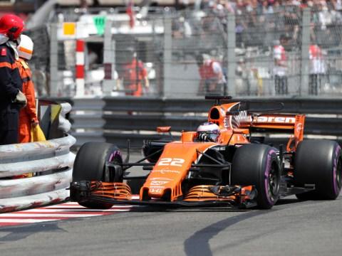 Jenson Button threatens Fernando Alonso he will 'pee' in his car at the Monaco Grand Prix
