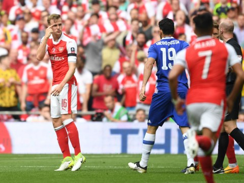 Rob Holding reveals what he thought when Diego Costa equalised in the FA Cup final