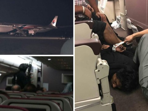 Passenger tackled after 'trying to hijack' Malaysia Airlines plane