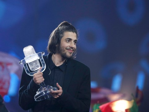 Portugal's Salvador Sobral wins the 2017 Eurovision Song Contest with Amar Pelos Dois