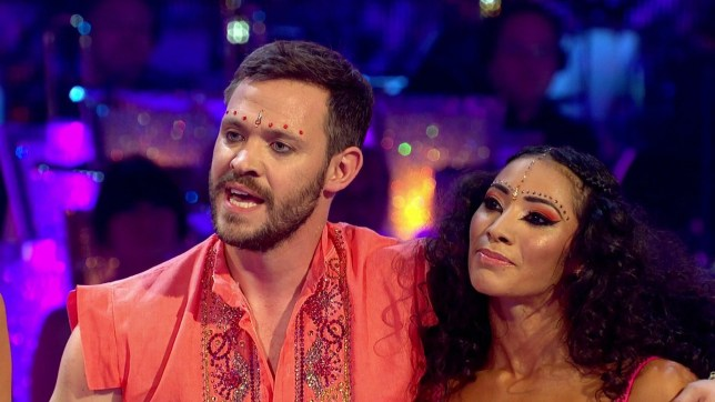 Television Programme: Strictly Come Dancing with Will Young and Karen Clifton. Pic shows:nWill Young leaves Strictly after row with Len Goodmannhis partner Karen Clifton is sad after he salsa routine was panned.nnnnPicture BBC supplied by Pixel8000 07917221968