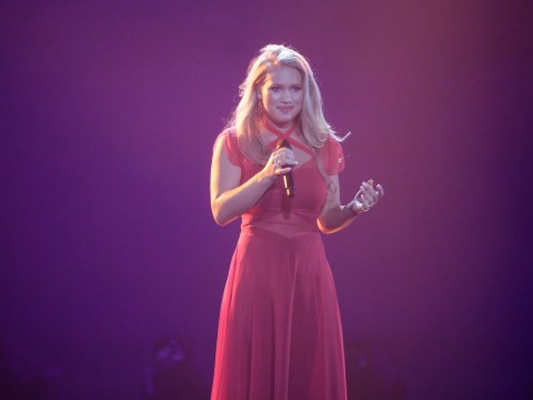 Denmark's Anja is the voice to beat at Eurovision – especially now that she's been reunited with her red dress