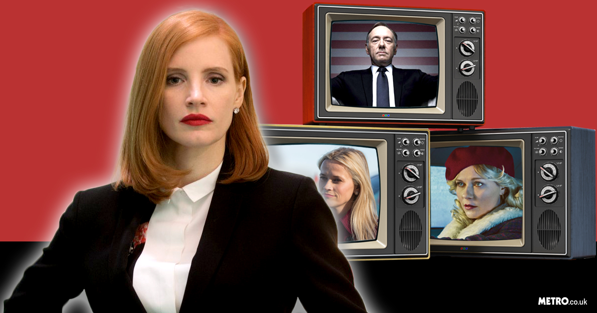 Jessica Chastain admits she won't be following in Nicole Kidman's footsteps and moving to TV