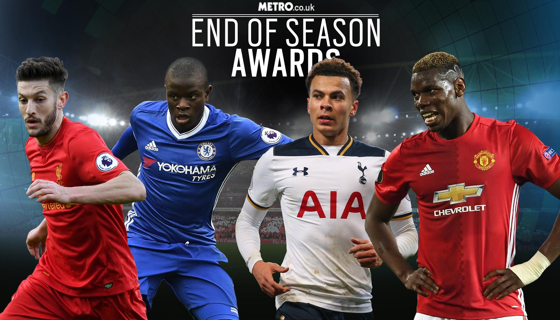 10 best Premier League midfielders of the season, with N'Golo Kante and Paul Pogba