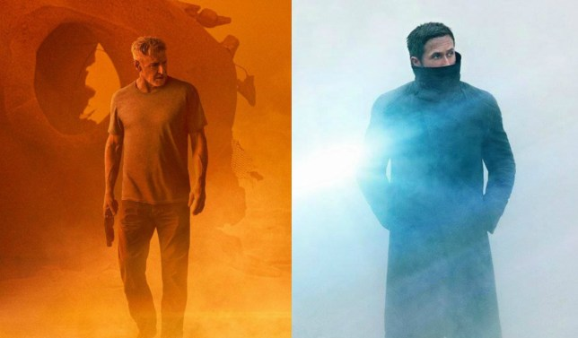 Two stunning Blade Runner 2049 posters tease a latest look at Ryan Gosling and Harrison Ford (Picture: Warner Bros)