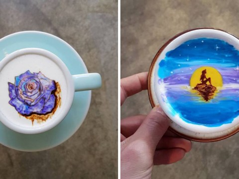 This barista creates the most beautifully detailed latte art we've ever seen