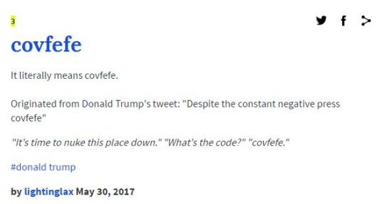What is covfefe, what does it mean and why was Donald Trump