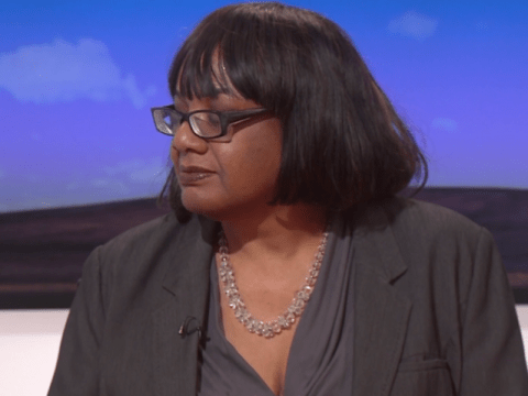 Diane Abbott forced to listen back to awkward LBC interview