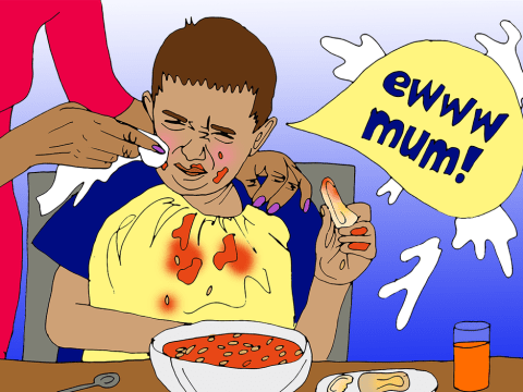Why I'm embarrassed by my children's fussy eating