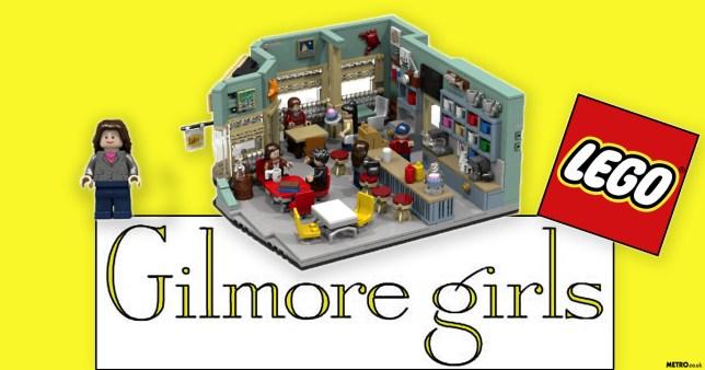 Gilmore girls lego set