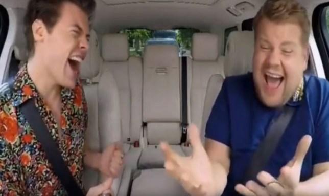 Justin Bieber Can T Get Enough Of Harry Styles Carpool Karaoke
