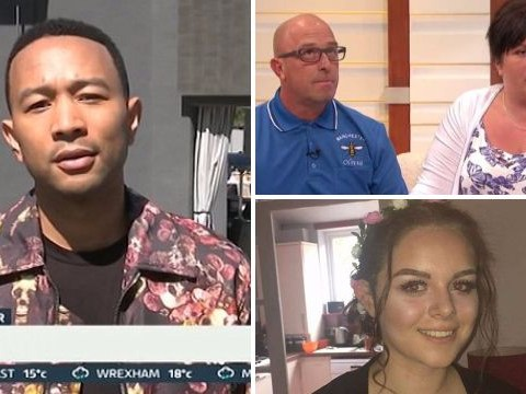 John Legend sends message to parents of Manchester bombing victim Olivia Campbell on Good Morning Britain