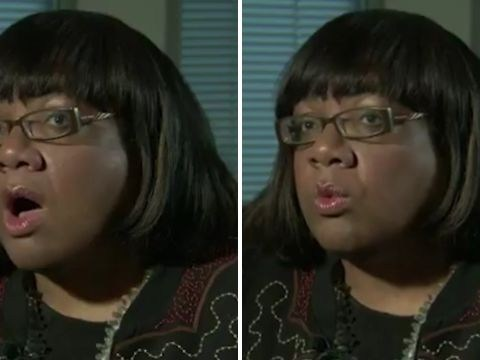 Diane Abbott's had another problem with numbers