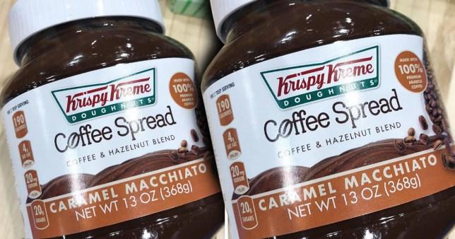 Krispy Kreme coffee spread