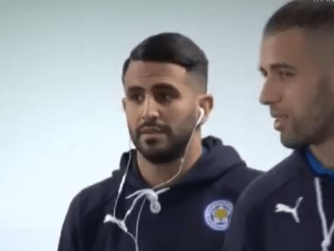 Riyad Mahrez basically tells team-mate he'd join Chelsea