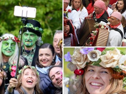 In pictures: Here's how May Day looked around the UK
