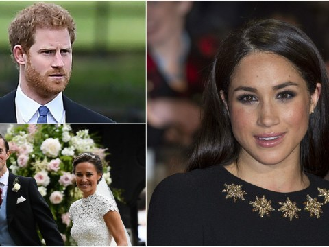 Prince Harry left Pippa's wedding to drive 100 miles to pick up Meghan Markle
