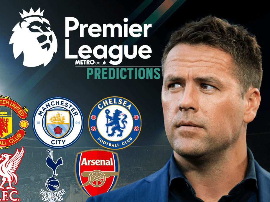 Michael Owen's Premier League predictions, including Arsenal v Man Utd