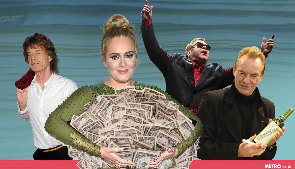 Adele has been named the richest artist in 30 in The Sunday Times Rich List (Picture: REX/Getty/MylesGoode)