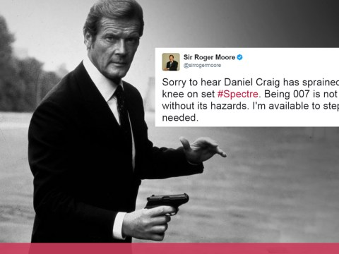 Here's some of Sir Roger Moore's best moments on Twitter