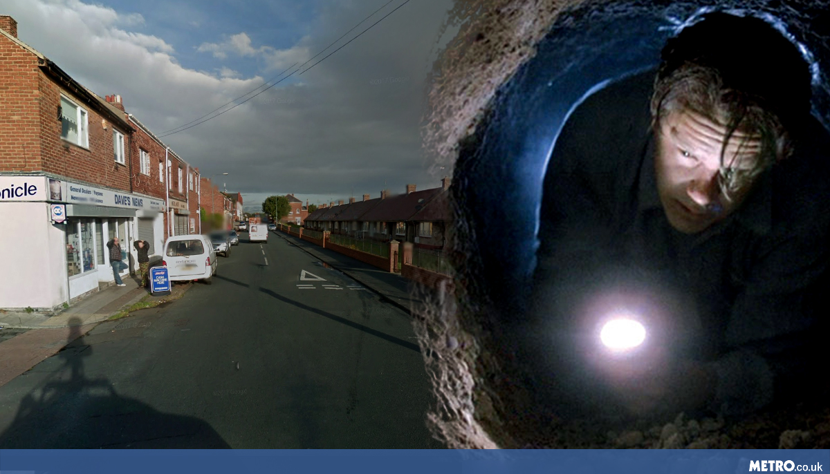 Driver makes Shawshank-style bid for freedom after police car chase