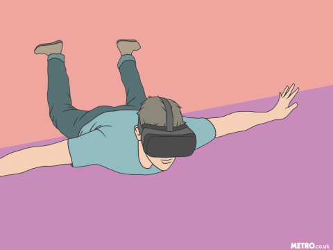 'How Virtual Reality Therapy helped me face my fear of being trapped' – we talk anxiety and cleithrophobia on mental health podcast Mentally Yours
