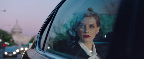 Jessica Chastain relays powerful and devastating story as a strong argument for gun control