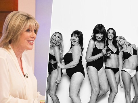 Viewers left confused about why This Morning host Ruth Langsford didn't strip for for Loose Women photoshoot